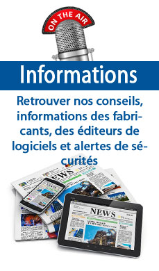 Retouvez quelques informations importantes du monde informatique